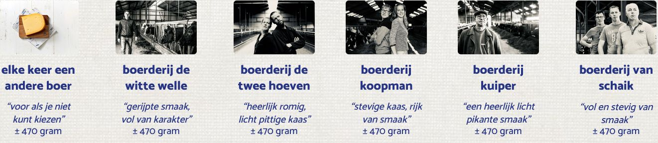 Kaas kopen bij de boer - De Firmakaas - online kaas bestellen en bezorgen - www.Vleeskopenbijdeboer.nl