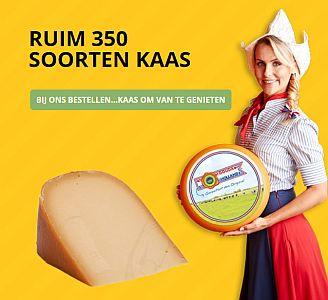 Vers van het mes, vacuüm verpakt en gekoeld verstuurd - ruim 350 soorten kaas - www.NoordHollandseBoerenkaas.nl