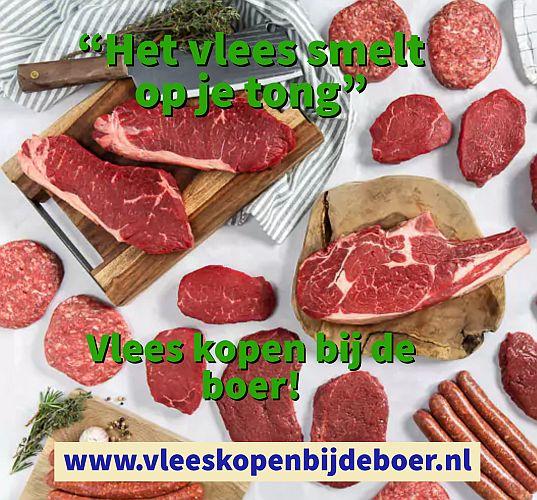 Vlees bestellen bij de boer - www.Vleeskopenbijdeboer.nl